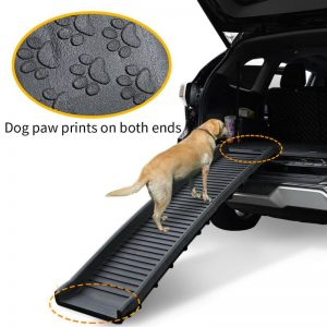 Portable Folding Pet Ramp (Plastic) for Car or Bed - The Dog Ramp Co.