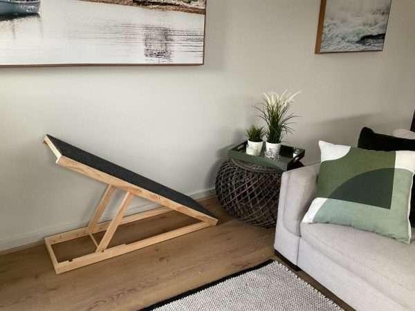 Extra Long Height Adjustable Dachshund Dog Ramp (Australian Made)