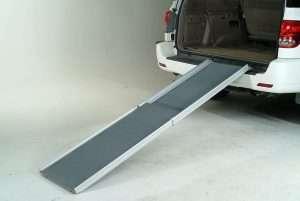 Solvit by PetSafe Deluxe XL Telescoping Car Pet Ramp for Dogs (Adjustable 119cm-221cm) - The Dog Ramp Co Australia