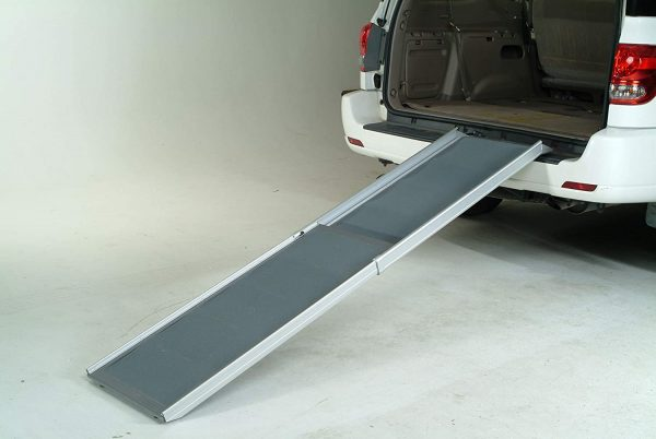 Solvit by PetSafe Deluxe XL Telescoping Car Pet Ramp for Dogs (Adjustable 119cm-221cm) - The Dog Ramp Co Australia