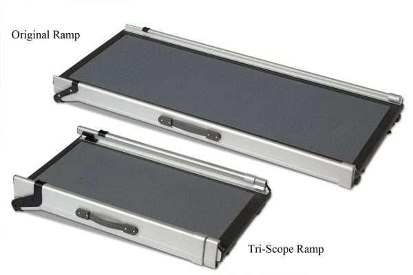 Solvit by PetSafe Triscope Pet Car Ramp for Dogs (Adjustable 71cm - 177cm) - The Dog Ramp Co. Australia