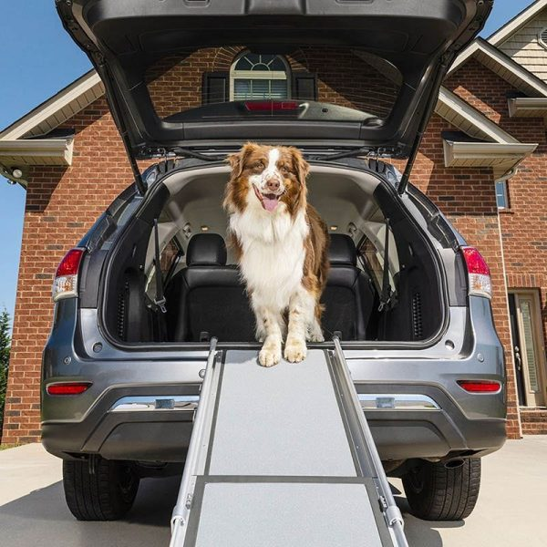 Solvit by PetSafe Deluxe Telescoping Car Pet Ramp for Dogs Adjustable 99cm - 182cm - The Dog Ramp Co. Australia