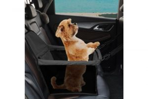 PaWz Pet Car Booster Seat Puppy Cat Dog Auto Carrier Travel Protector Safety - Black - The Dog Ramp Co. AustraliaPaWz Dog Booster Seat Car Carrier - Black - The Dog Ramp Co. Australia